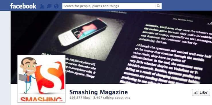 Smashing Mag Facebook